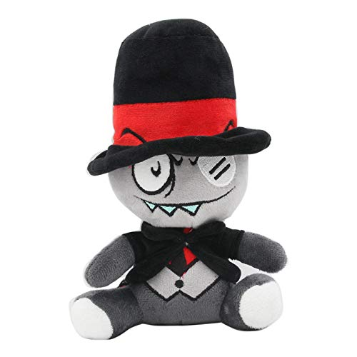 miaomiao Juguete de pelucheTv Villainous Black Hat Peluche Muñeca De Peluche Suave 20cm