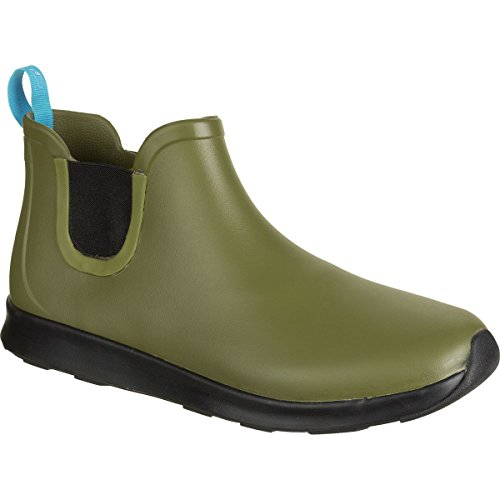 Native Men's Apollo Rain Shoe, Rookie Green/Jiffy Black/Jiffy Rubber, 11 M US