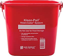 carlisle 6-quart sanitizing bucket