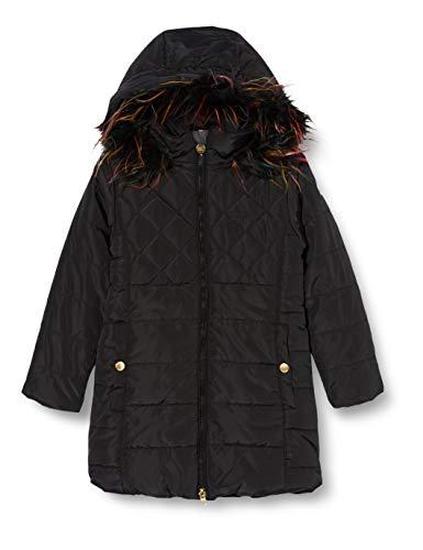 Regatta - Abrigo impermeable unisex para niños Bernadine de alto brillo con chaqueta de aislamiento térmico, Unisex niños, Chaqueta, RKN093 800K15, negro, 14 Años