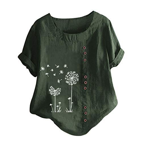 Oberteile Blusen Shirts Kurzarm T-Shirts Tops Tshirt Damen GroßE GrößEn Kinder Junge Kapuzenpullover FüR Damen