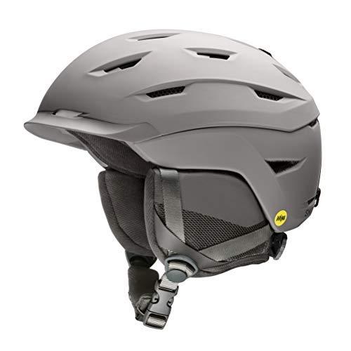 Smith Optics Level MIPS Snow Helmet (Matte Cloudgrey, X-Large 63-67cm)