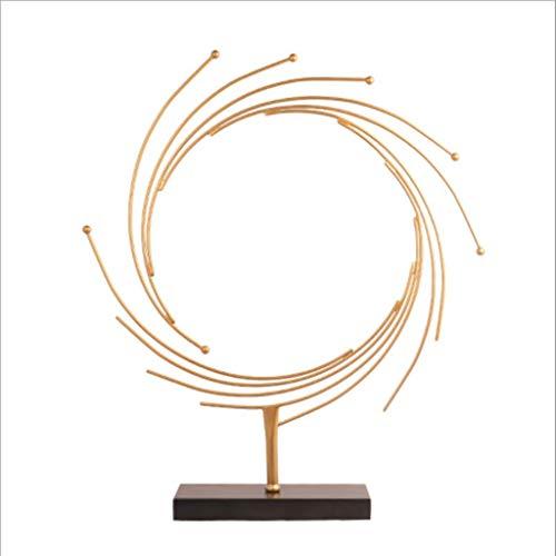 Adornos De Artesanía Oficina Decorativa Moderna De La Decoración del Metal para La Decoración De Muebles Estatuas Adornos Índice Accesorios De Que Viven De La Decoración De Arte Escultura,Large