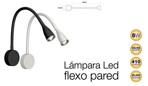 Lámpara LED Flexo de Pared (Blanco)