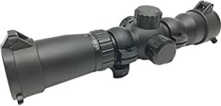 Ravin R170 100-Yard Illuminated Red/Green Crossbow Scope For Use With Ravin Crossbows, Black