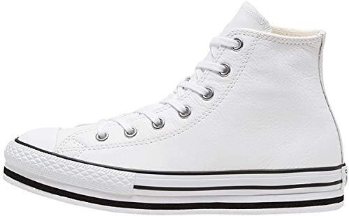 Converse Chuck Taylor All Star 2V, Zapatillas para Niñas, Bianco, 32 EU