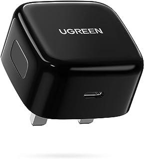 شاحن لايفون 13 برو شحن سريع 20 واط USB-C محول طاقة متوافق مع ايباد 9، ايباد ميني 6، ايفون 13 برو/13 برو ماكس / 13 ميني / 1...