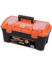 Tactix Tool Box, Plastic, 50.7cm(20inch), Multi Color, H12.2 x W12.4 x D3.4 cm