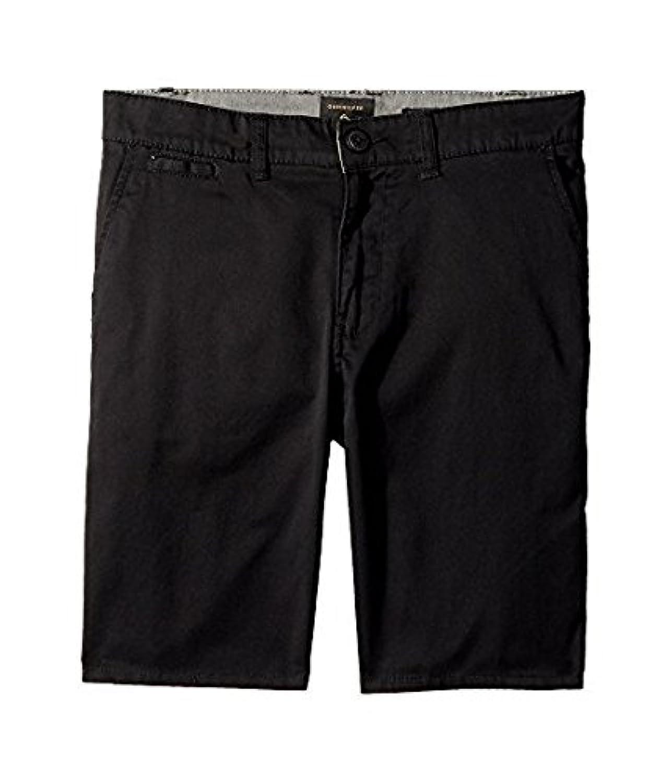 クイックシルバー Quiksilver Kids キッズ 男の子 ショーツ 半ズボン Black New Everyday Union Stretch Shorts [並行輸入品]