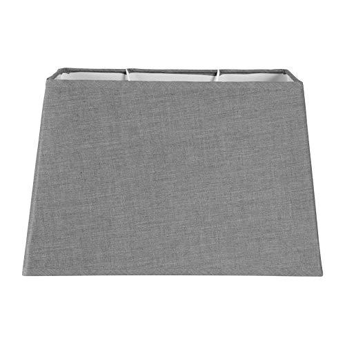 Ostaria Pantalla lámpara rectangular, color gris
