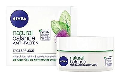 Nivea Pure & Natural Anti-Wrinkle Day Cream Face Cream 50ml from Nivea