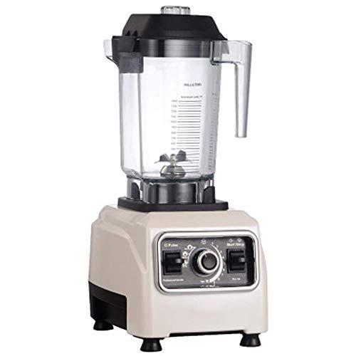 CCJW Masticating Juicer,Cold Press Juice Extractor,Commercial Milk Tea Shop Milkshake Blender, Household Broken Juice Milkshake Soy Milk Ice Machine, Easy to Clean-White kshu