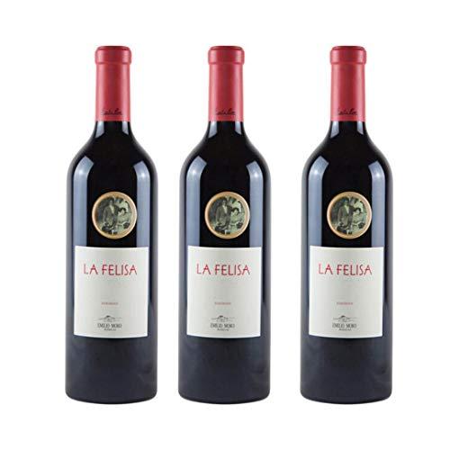 La Felisa Vino tinto - 3 botellas x 750ml - total: 2250 ml