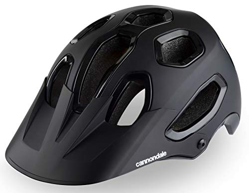 CANNONDALE Intent Mens Mountain Bike Helmet - Black, S/M/MTB Off Road Enduro Downhill Freeride Dirt Jump Trail Biking Headwear Head Skull Safety Wear Guard Protection Protective Protect Safe Shell