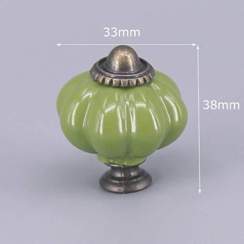 Green Series Ceramic Knob Dresser ladekast handvat 014