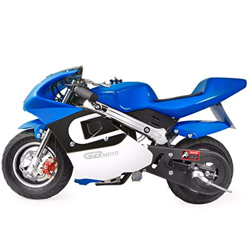 XtremepowerUS Gas Pocket Bike Mini Motorcycle Ride-On 40cc