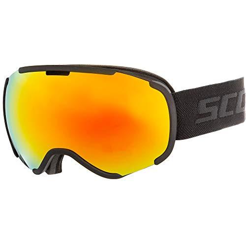 Scott Faze II Skibrille schwarz Einheitsgröße