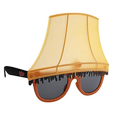 Sun-Staches A Christmas Story Leg Lamp Sunglases Holiday Costume Novelty Shades UV400, Multi, one Size (SG3716)