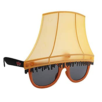 Sun-Staches A Christmas Story Leg Lamp Sunglases Holiday Costume Novelty Shades UV400 Multi one Size  SG3716