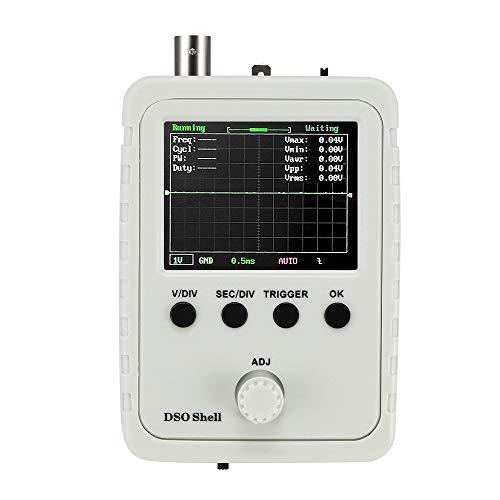 Houkiper Kit oscilloscopio Digitale, modalità Trigger Automatico Normale Singolo con oscilloscopio Oscilloscopio Digitale a Forma di Conchiglia