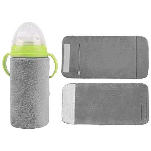 USB-Aufladung mit Wärmekabel Flaschenwärmer für Babys, Babyflaschenwärmerbeutel, Reiseauto Babyflaschenwärmer