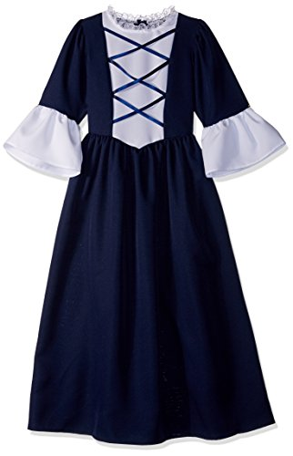 Charades Martha Washington Children's Costume, Medium