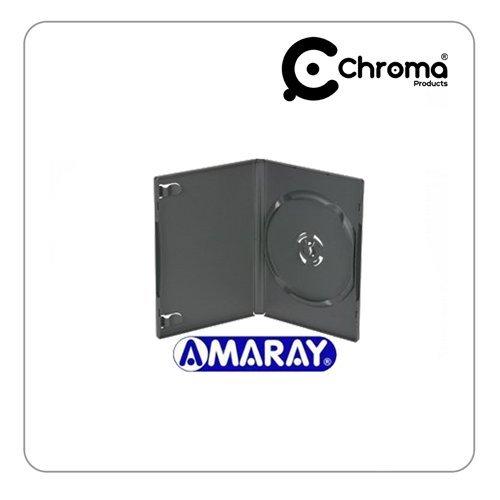 Amaray - Pack de 50 estuches para DVD (lomo de 14 mm), color negro: Amazon.es: Informática