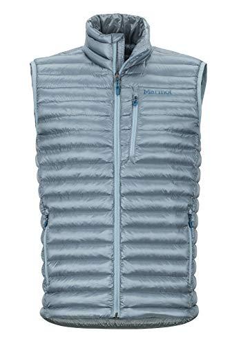 Marmot Herren Avant Featherless Vest Ultra-leichte Isolierte Winterweste, Warme Outdoorweste, Wasserabweisend, Winddicht, Blue Granite, L