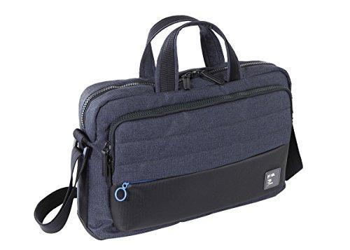 NAVA Passenger, Borsa con 2 manici porta PC e iPad con power bank in omaggio, Blu/azzurro
