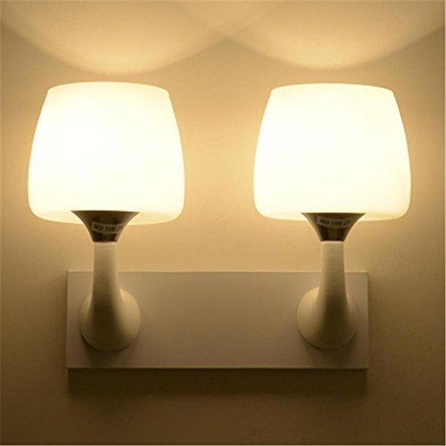 Applique Moderne Simple LED Lampe de Chevet Creative Chambre Salon Restaurant Chambre D'enfants Salle d'étude Escalier Allée Hôtel Décoration Mur Lumière, F