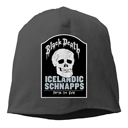 Black Death Isländische Schnaps Casual Fashion Kälteschutz Heckenkappe 3