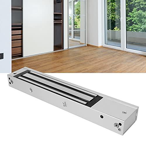 Herrajes para Puertas, Cerradura magnética DC 12V de aleación de Aluminio para Puerta cortafuego para Puerta de Madera para Puerta de Metal para Puerta de Vidrio