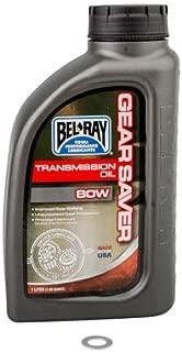 Tusk Transmission Oil Change Kit Bel-Ray Gear Saver 80W - Fits: Suzuki RM125 1998-2007