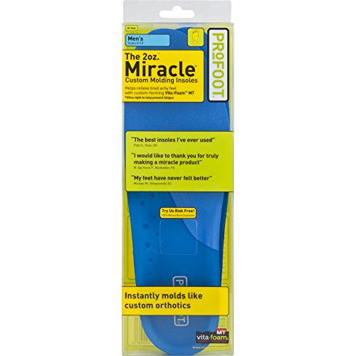 PROFOOT Original Miracle Insole, Men's 83, Pair, Multi, Size 813, 1 Pair, 1 Count