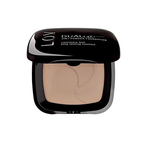 L.O.V Make-up Teint Dualist 2 in 1 Powder Foundation Nr. 010 Ivory Elegance 8 g