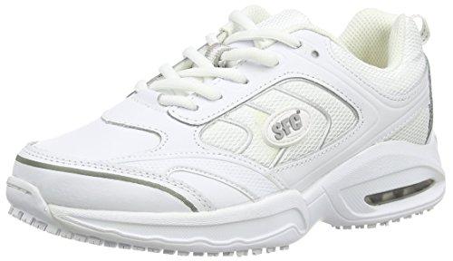 Shoes For Crews Revolution, Zapatillas de Entrenamiento para Mujer, Blanco (White), 42 EU ( 8 UK )