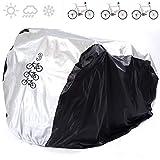 ANFTOP Housse Velo Exterieur Anti-UV Protection Poussière Résistant Impermeable Couverture de Vélo Bicyclette Cycle Scooter Montagne étanche L