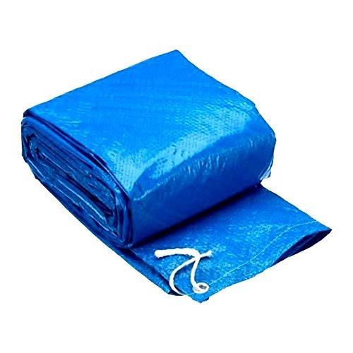 Cubierta de Piscina Redonda, Cobertor para Piscina Antipolvo Impermeable Funda de Protectora para Piscina del Jardín de Casa (Sin Piscina) (244cm)