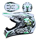 Dgtyui Casco ultraleggero moto da corsa casco da bici cartone animato per bambini fuoristrada discesa mountain bike DH casco cross cross cap - CXS