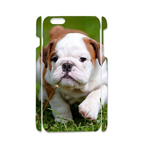 Unknow Usar para Apple iPhone 6 Plus Tener con Pitbull para Mujeres Bonito Cáscara De Abs Duro