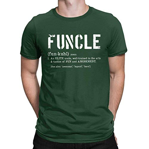 FUNCLE T-Shirt Mens Funny Slogan Graphic TShirt Fun Uncle Present Gift Brother