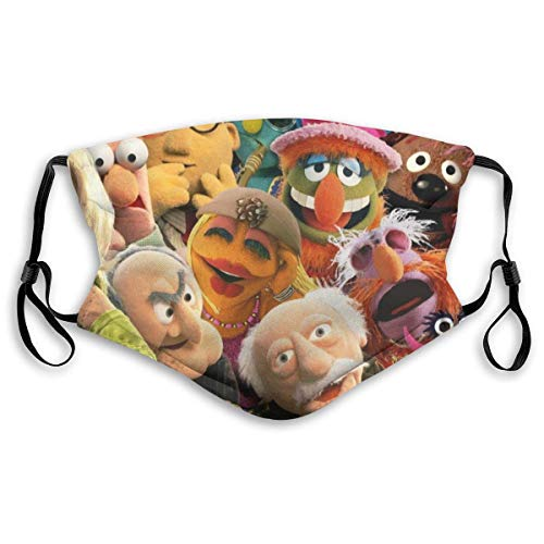 Decorative Cover Kids Adult Anti Dust Beaker The Muppets Face2 Face Mouth Mask Adjustable Can Replace Filter