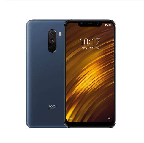 "Smartphone Xiaomi Pocophone F1 6GB + 128GBGB Display 6.18"" Camera 20MP (Preto)"