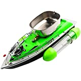 Sikiwind RC Fishing Adventure Lure Bait Boat Electric Fast Fish Finder (Green EU)