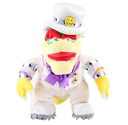 N/T Super Mario Bros 3D Land Bone Koopa Dragon Dark Bowser Lemmy Morton Roy Wendy Peluches Muñecos De Peluche Regalos para Niños 32Cm