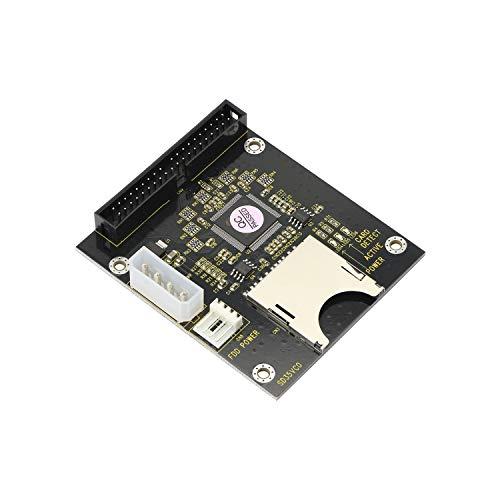 SD SDHC SDXC MMC a 3.5 pulgadas 40Pin macho IDE adaptador tarjeta de memoria SD a IDE adaptador de disco duro