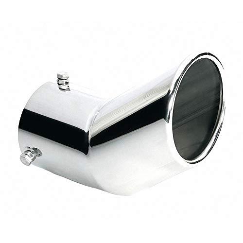 ER029 - Acero inoxidable de tubo de escape del tubo de escape de para atornillar Embellecedor de tubos de escape universales