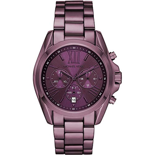 Relógio Michael Kors Feminino Bradshaw Roxo - MK6721/1NN