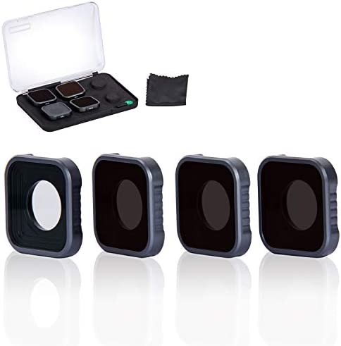 Fstop Labs 4 Pack Lens Filters for GoPro Hero 9 Black Camera Lens Set Multi Coated Filters Pack product image
