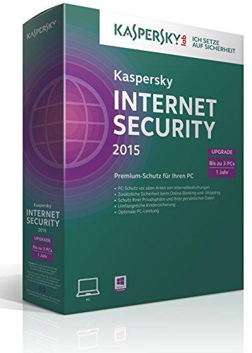 Kaspersky Internet Security 2015 Upgrade - 3 PCs